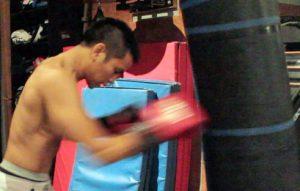 Exercices de sac de frappe